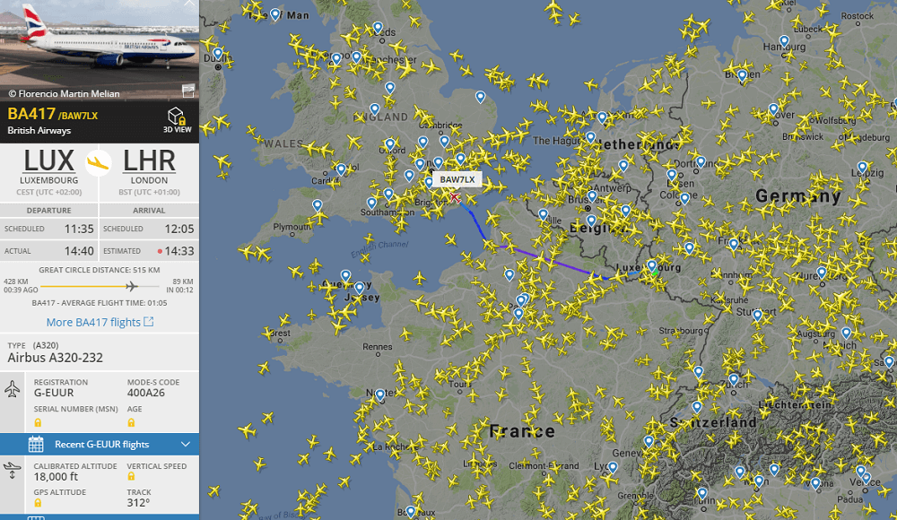 How to check my flight status: the principle of work of flight radar