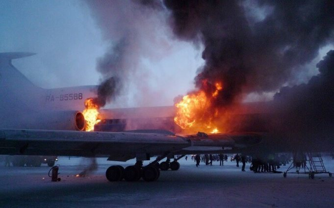 Why can the aircraft completely burn out within 90 seconds?