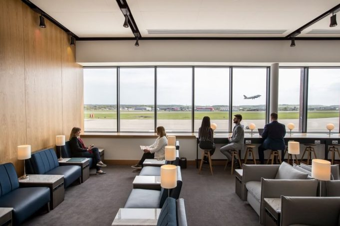 British Airways has opened an entirely new, modern, stylish Lounge in Aberdeen
