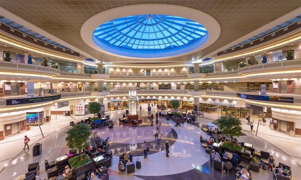 International Airport Hartsfield-Jackson Atlanta, USA