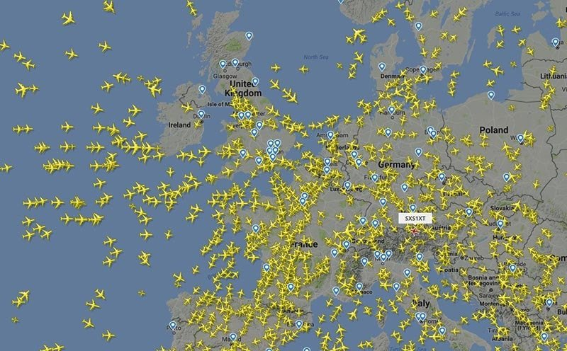 Flightradar24 online