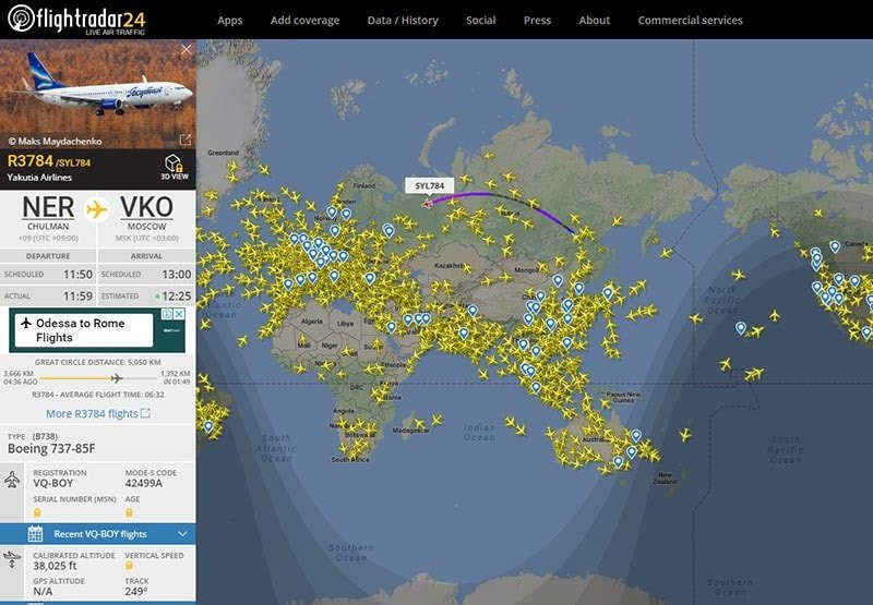 Flightradar24 - Track your flight with the best flightradar for FREE
