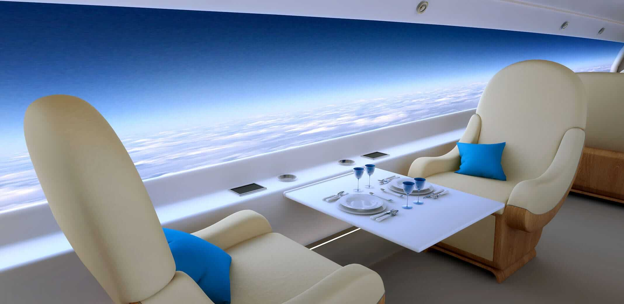 Future planes without windows