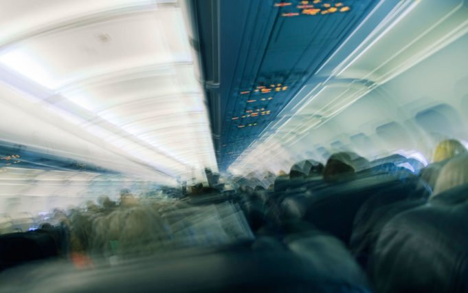 Turbulence of the aircraft