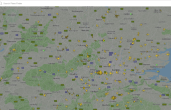 PlaneFinder - best online tracker