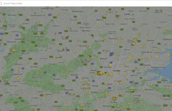 PlaneFinder - best online tracker