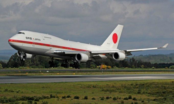 Boeing 747 crashed in Japan