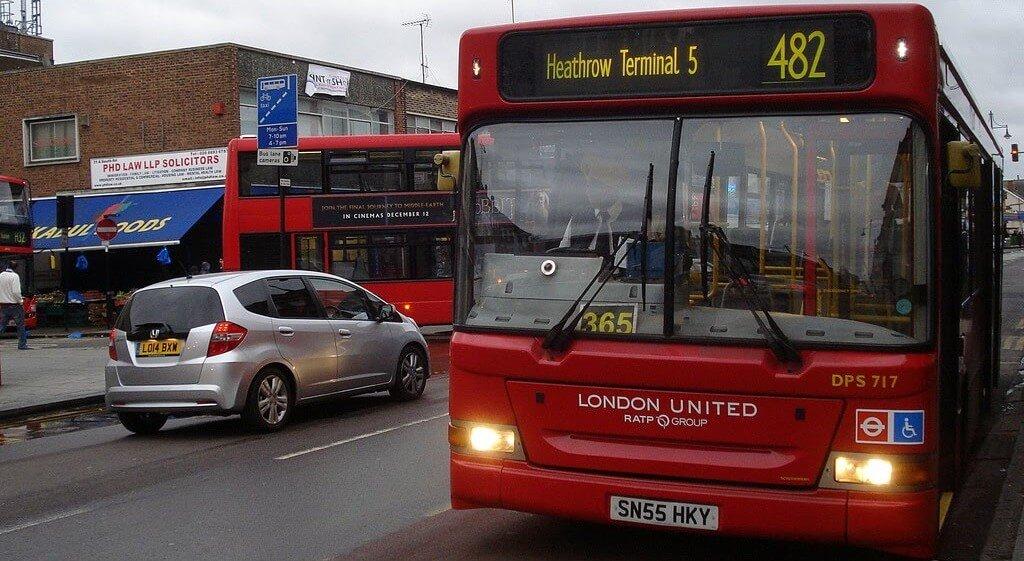 Bus to Heathrow terminal 5