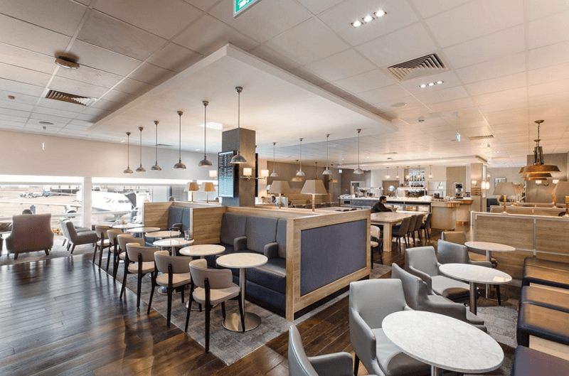 Club Aspire Lounge near Heathrow