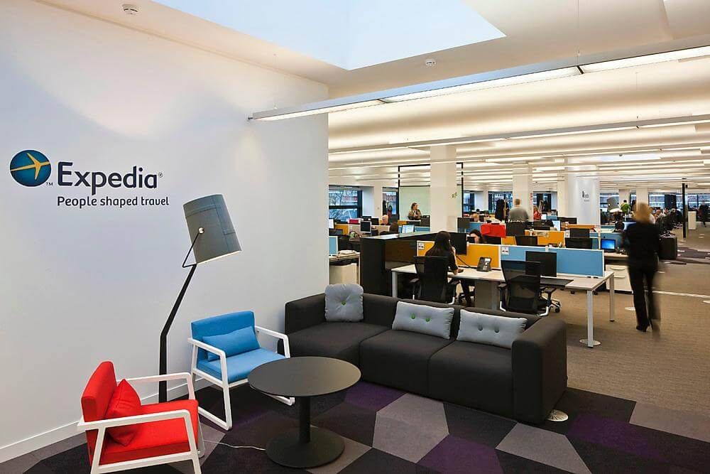 Expedia London: head office in the UK