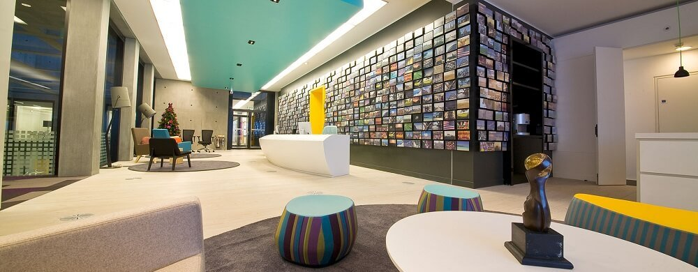Expedia London office in the UK