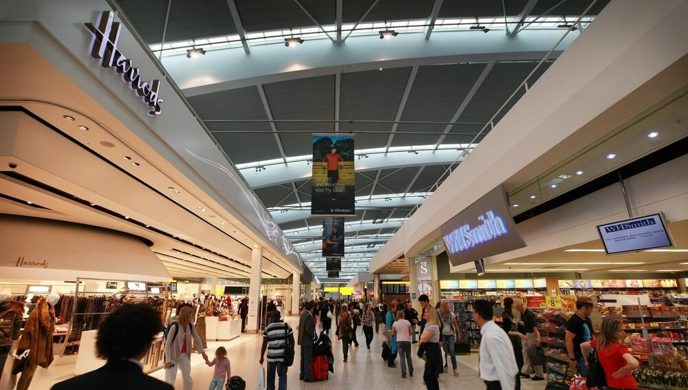 Heathrow terminal 3 shops