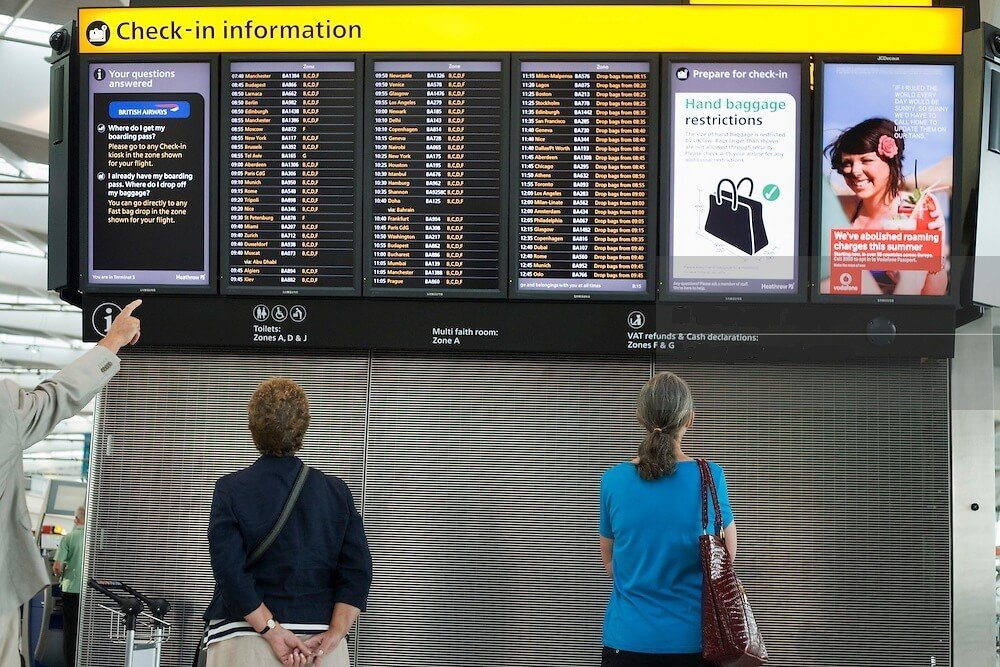 London Heathrow Check-In process