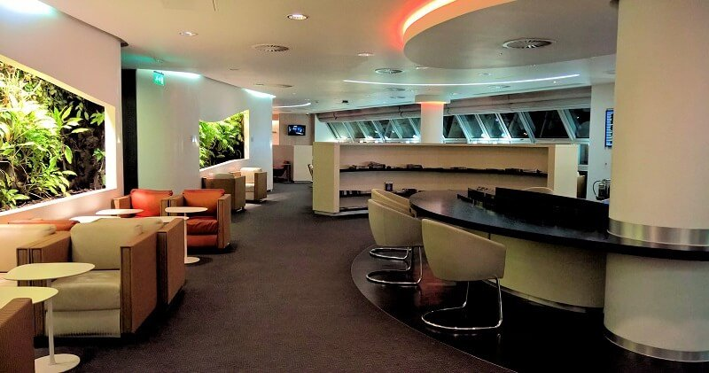 SkyTeam Lounge Heathrow