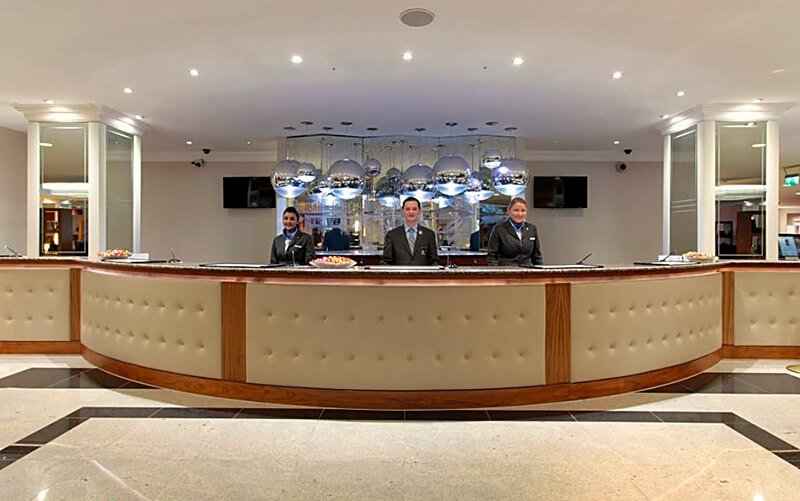 Renaissance London Heathrow Hotel front desk
