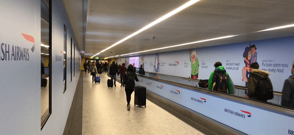 Gatwick departures