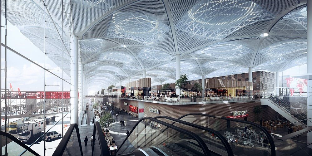 Istanbul New Airport departures