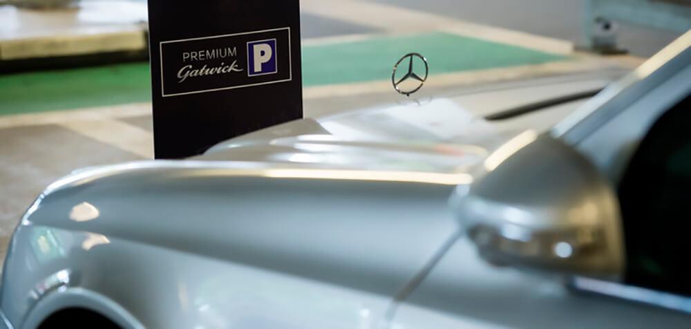 Premium parking at Gatwick