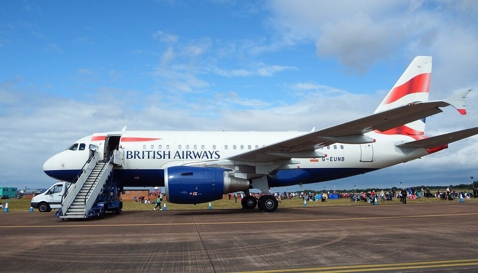 British Airways to Gatwick south terminal
