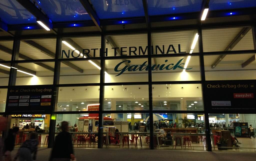 Gatwick north terminal entrance