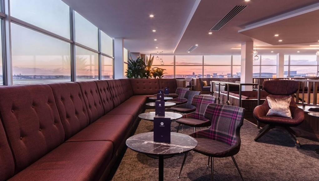 No1 Lounge in Gatwick South Terminal