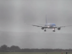 Pilot lands in 40-knot crosswinds at Bristol