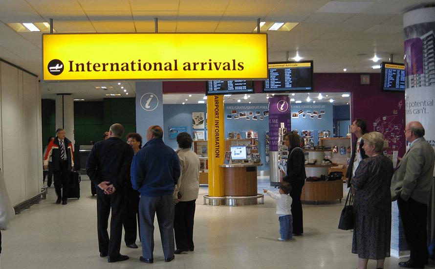 Luton arrivals