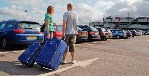 Parking Luton airport