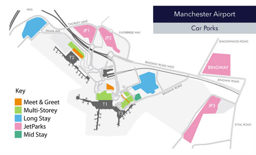Manchester Airport Parking Information Flightradars24 Co Uk