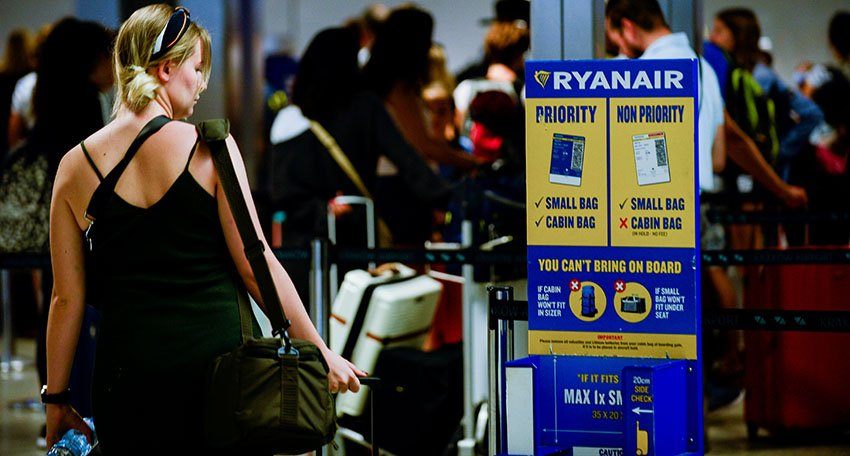 Permitted Items Ryanair