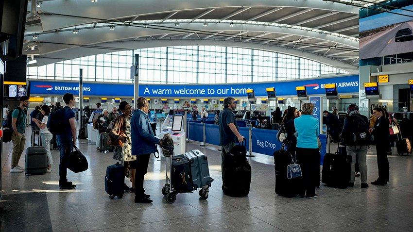 British Airways Checked Baggage