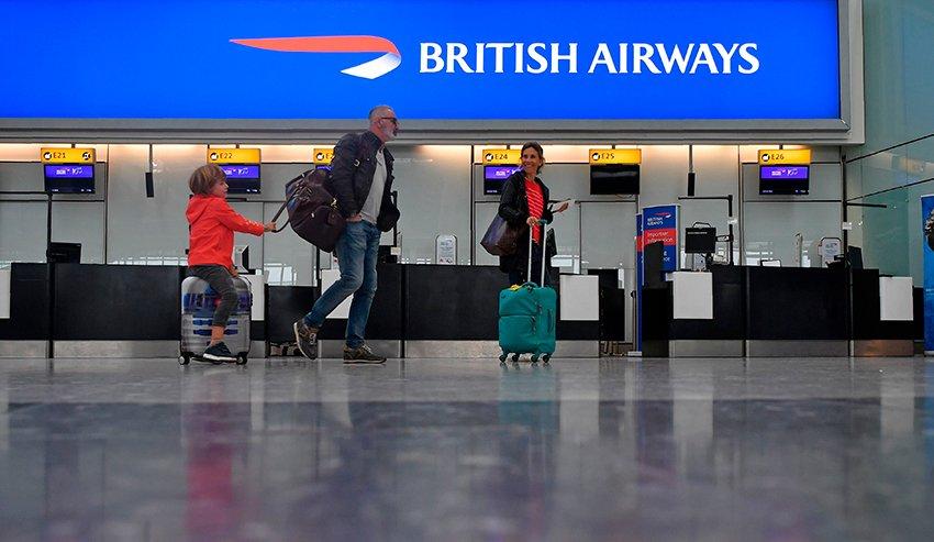 British Airways items prohibited to transportation