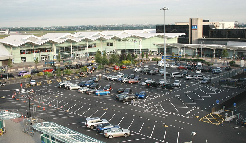 Birmingham Airport hotel and parking