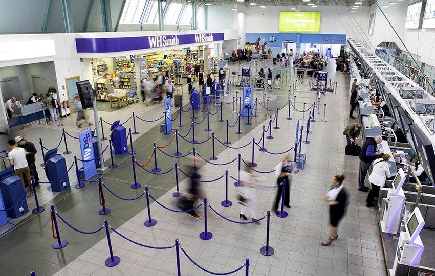Birmingham Airport Departures Security