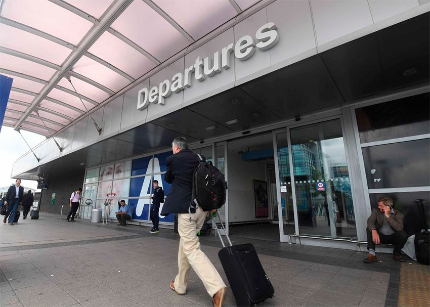 Birmingham Airport Departures