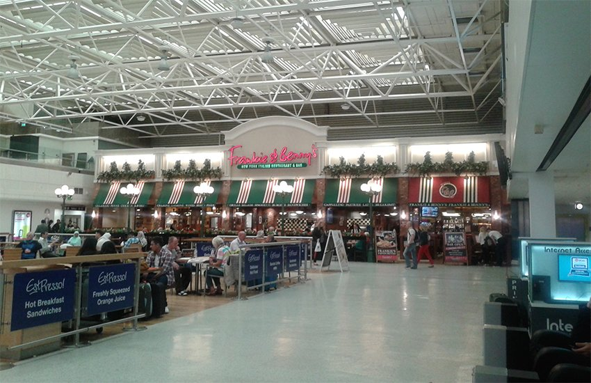 Birmingham Airport Frankie & Benny's