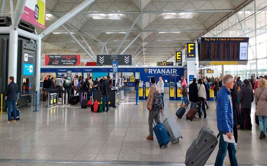 stansted airport departures