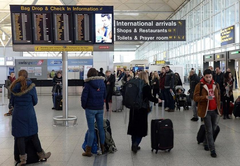 stansted arrivals