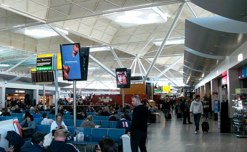 stansted departures