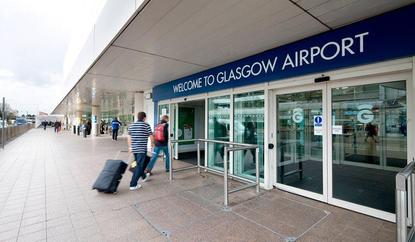 glasgow airport live departures