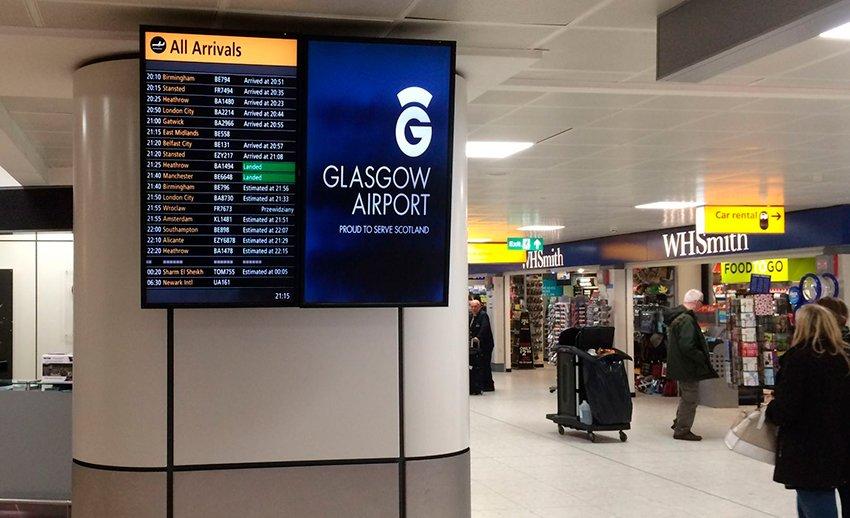glasgow arrivals